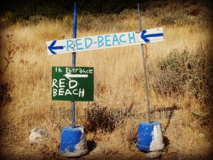 PERCORSO RED BEACH