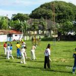 Allenamento di cricket, Galle