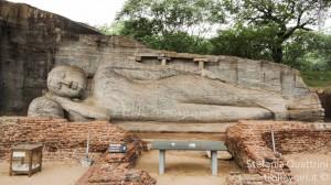 Polonnaruwa: statua di Buddha in granito