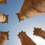 Jerash, colonne