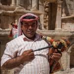 Jerash, suonatore