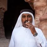 Petra, beduino