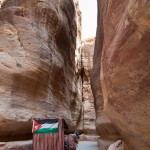 Petra, carrozza nel siq