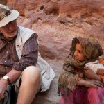 Petra, turista e bambina