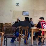 Tifosi in un bar di Amman