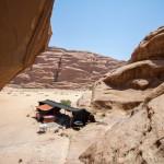 Wadi rum, accampampamento beduino