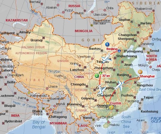 map-tour-china