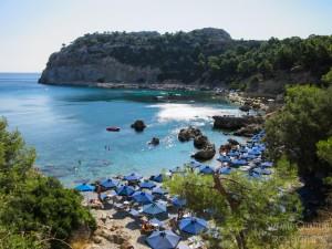 Spiaggia Anthony Quinn Rodi