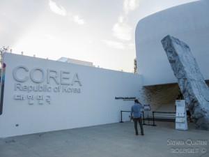 Padiglione Corea, esterno