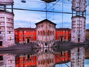 Padiglione italia, sala degli specchi